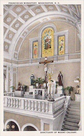 Sanctuary Of Mount Calvary Franciscan Monnastery Washington D C