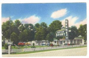 Bennett Motor Court (In The Pines), U. S. Highway #301A, Lumberton, North Car...