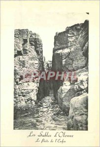 Modern Postcard Les Sables d'Olonne (Vendee) The Hell Pit