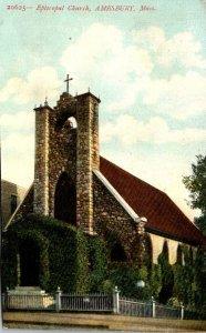Massachusetts Amesbury Episcopal Church 1908