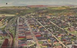Air view of Gallup, New Mexico, PU-30-40s
