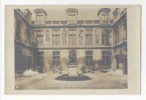 Paris France Cour D'Entree Musee Carnavalet Museum Vtg A. Moutet Postcard