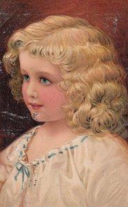 Blonde Child Portrait , 1909 ; PFB 7789