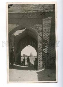 193117 IRAN Persia VERAMIN Mosque Vintage photo postcard