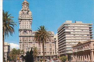 Uruguay Montevideo Plaza Independencia