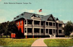Florida Tampa Keller Memorial Hospital Curteich