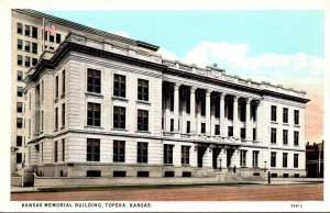 Kansas Topeka Kansas Memorial Building Curteich