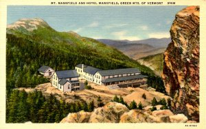 VT -  Mt Mansfield and Hotel Mansfield
