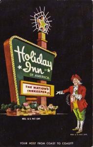 Holiday Inn Washington North Carolina 1968