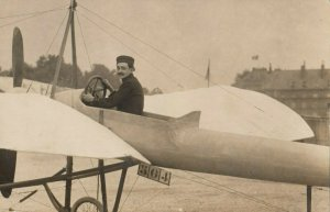 RP: Early Mono-Wing Airplane , 1900-10s ; #3