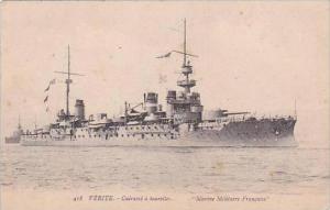 France Verite Cuirasse a tourelles Marine Militaire Francais