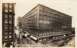 RP;  WINNIPEG,  Manitoba, Canada, 00-10s; The T. Eaton Store