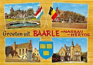 Netherlands Groeten uit Baarle Nassau hertog Brunnen Fountain Street