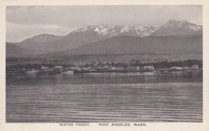 Washington Port Angeles Water Front View Albertype sk557