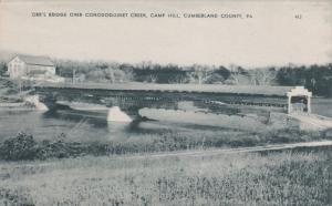 Orr's Covered Bridge over Conodoguinet Creek, Camp HIll, CUMBERLAND COUNTY, P...