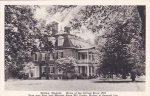 Home Of The Carters Sine Here Was Born And Married Anne Hill Carter Shirley V...