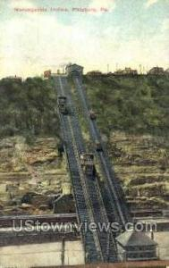 Monongahela Incline Pittsburgh PA Postal Used Unknown, Missing Stamp