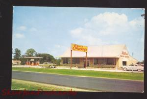 SPRINGFIELD ILLINOIS STUCKEY'S PECAN SHOPPE ROUTE 66 GAS STATION OLD POSTCARD