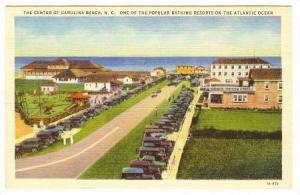 One Of The Popular Bathing Resorts On The Atlantic Ocean, Center Of Carolina ...