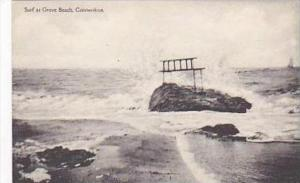 Connecticut Surf at Grove Beach Albertype