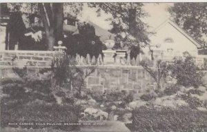 New Jersey Mendham Rock Garden Villa Pauline Artvue