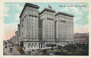 SAN FRANCISCO, California, 1900-1910s; Hotel St. Francis
