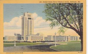 United States Naval Medical Center, BETHESDA, Maryland, PU-1950