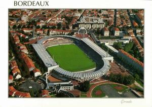 france, BORDEAUX, Stade Municipal, Aerial View (1990s) Stadium Postcard