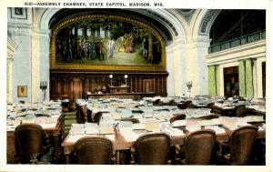 WI - Madison. State Capitol Assembly Chamber