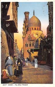 Cairo Egypt, Egypte, Africa The Blue Mosque Cairo The Blue Mosque