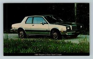 1980 Buick Skylark 2-door Sport Coupe Chrome Postcard