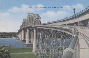 Louisana New Orleans Huey P Long Bridge