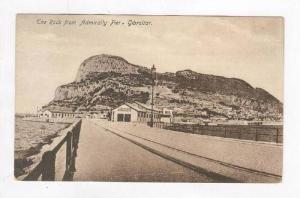 The Rock From Admiralty Pier, Gibraltar, United Kingdom, 1900-1910s