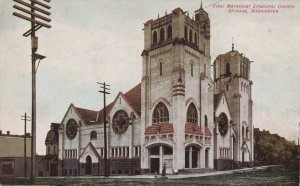 Washington Spokane First Methodist Episcopal Church sk383