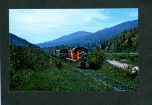 VT Vermont Railway Railroad train Loco 401 N. Dorset Vermont to Rutland Postcard