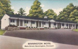 Vermont Bennington The Bennington Motel On Main Street sk572