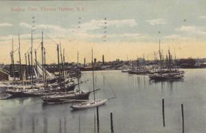 Sealing Fleet sailboats, Victoria , B.C. , Canada , PU-1909