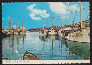 NEWFOUNDLAND - Portuguese White Fishing Fleet In The Harbour # 2 - Unused