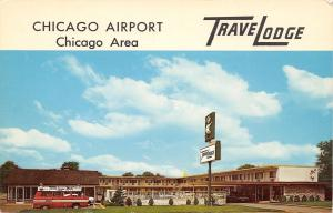 Chicago Mannheim TraveLodge~Franklin Park~O'Hare Airport~1965 PC