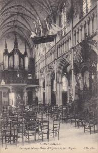 SAINT BRIEUC , France , 00-10s ; Basilique Notre-Dame d'Esperance , Les Orgues