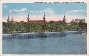 Florida Tampa Hillsboro River Plant Park And Tampa Bay Hotel