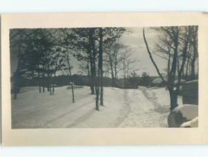 Pre-1920's rppc NICE VIEW Boulderwood - Near Halifax Nova Scotia NS W1109