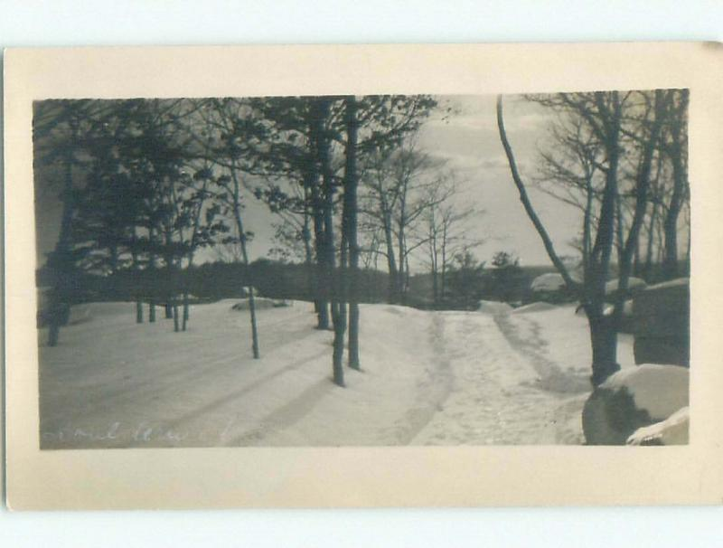 Pre-1920's rppc NICE VIEW Boulderwood - Near Halifax Nova Scotia NS W1109