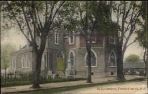 Penn's Penns Grove NJ ME Church c1910 Postcard