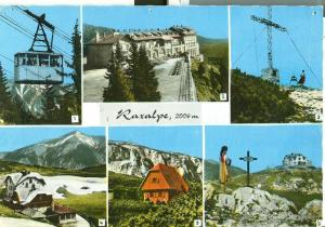 Austria, Raxalpe, unused stamped Postcard