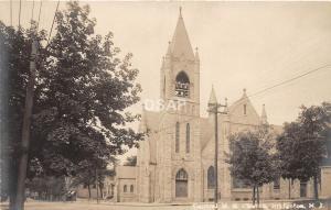 B53/ Bridgeton New Jersey NJ Real Photo RPPC Postcard c1910 Central M.E. Church