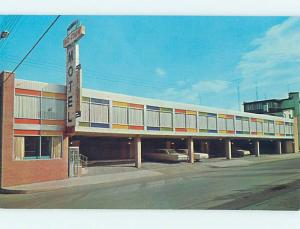 Unused Pre-1980 OLD CARS & MIDTOWN MOTEL Hagerstown Maryland MD M0691