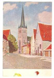 Tallinn. Oleviste kirk.-St. Olai-church , Estonia, 00-10s