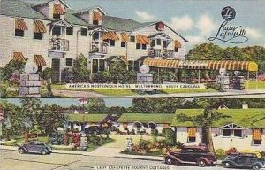 South Carolina Walterboro Lady Lafayette Tourist Cottages Americas Most Uniqu...