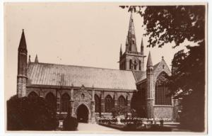 Norfolk; Donlion, St Nicholas Church, Great Yarmouth RP PPC, Unposted